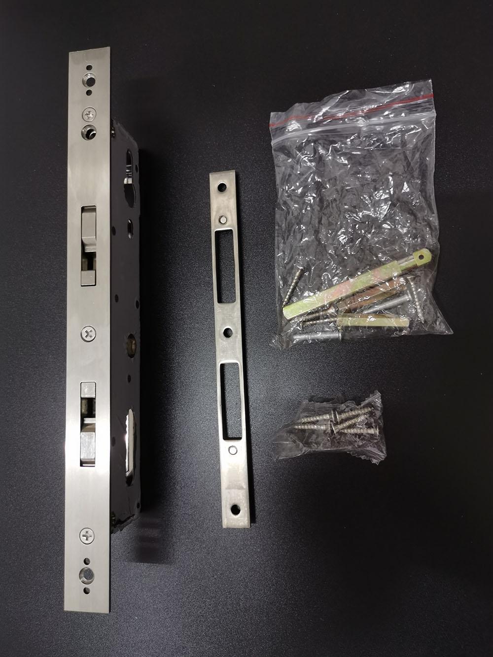 Euro Mortise Aluminum Door Password Bluetooth Door Lock YFB-918