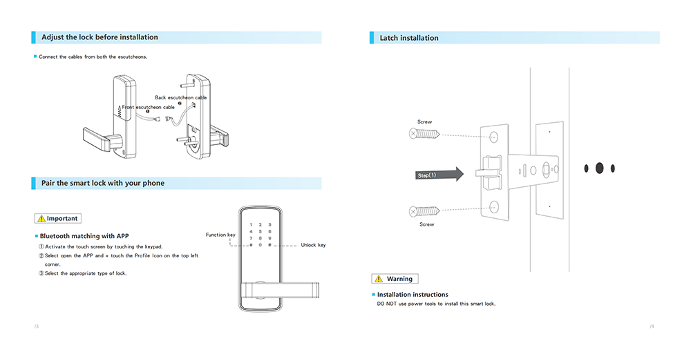 Replace Ball Lock Fingerprint Wifi Smart Door Lock YFBF-919
