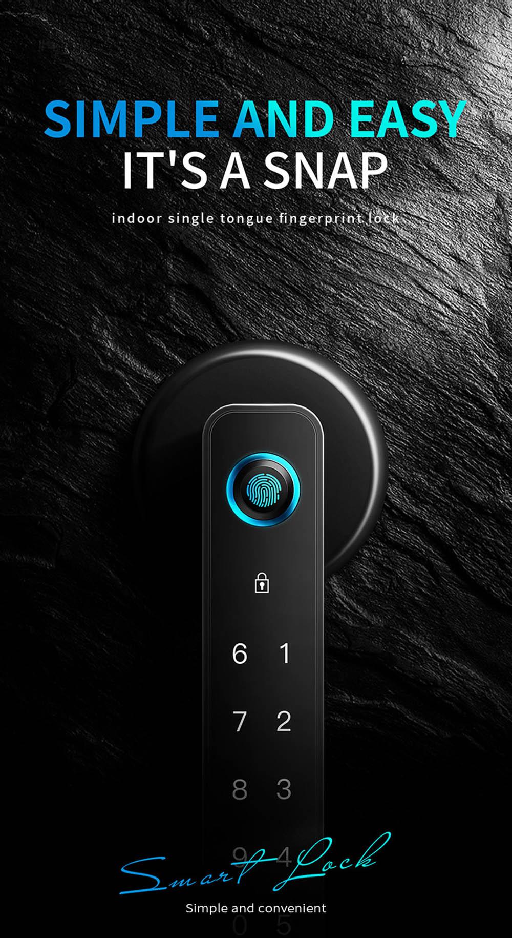 Bluetooth Fingerprint Door Lock YFBF-C01