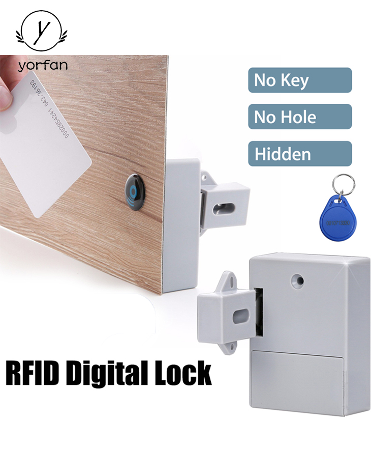 Hidden Type Invisible Electronic Locker Lock