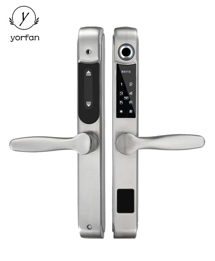 Aluminum Door Smart Fingerprint Door Lock