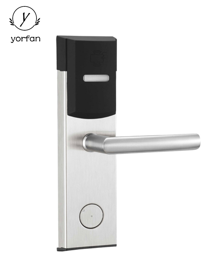 Swipe Card Hotel Door Lock YFH-118E-S3