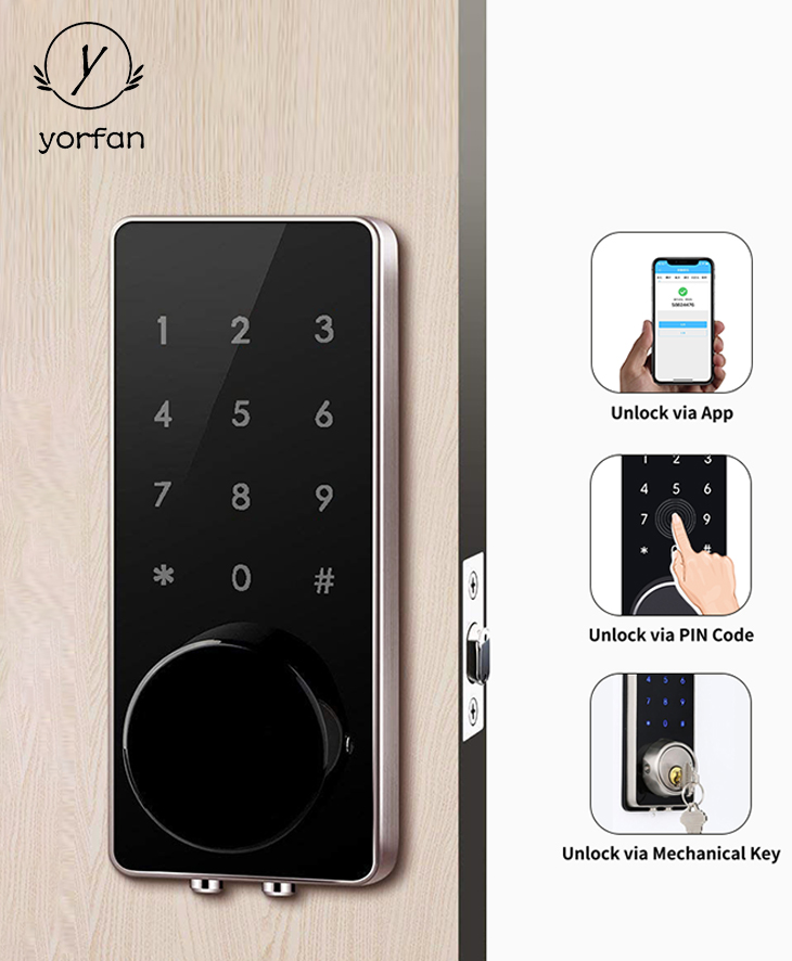 Deadbolt Bluetooth Door Lock YFB-110