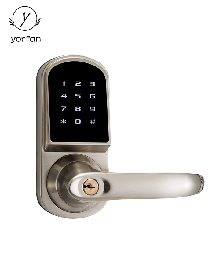 Single Latch Bluetooth Door Lock YFB-210