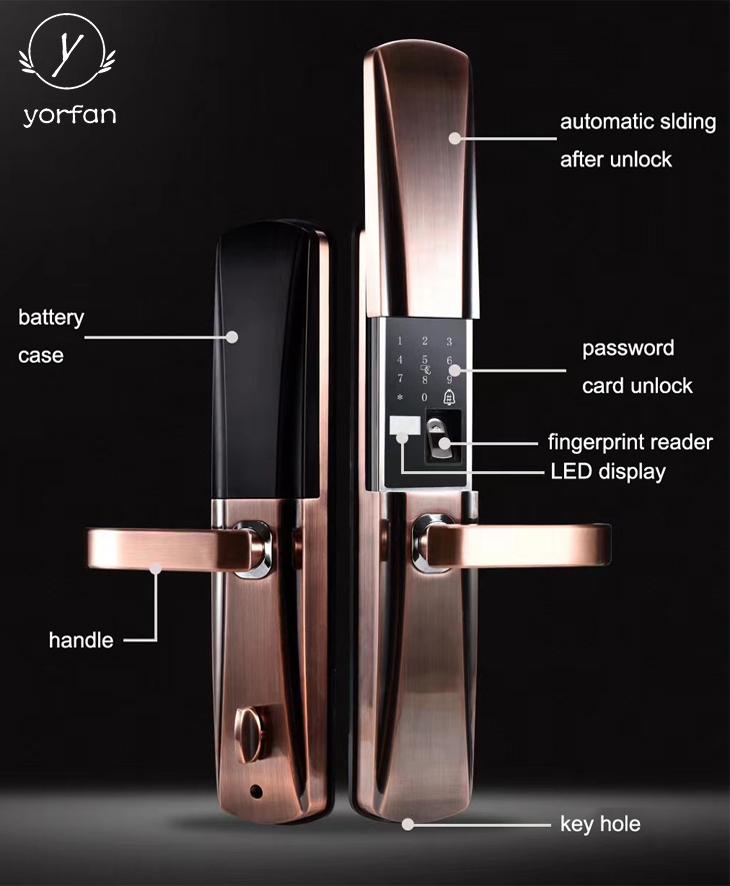 Smart Fingerprint Door Lock YFF-A8