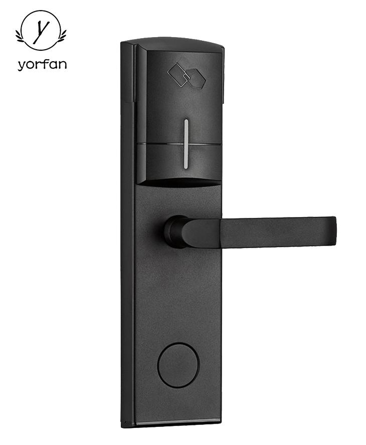 Black Color Swipe Card Hotel Room Lock YFH-103